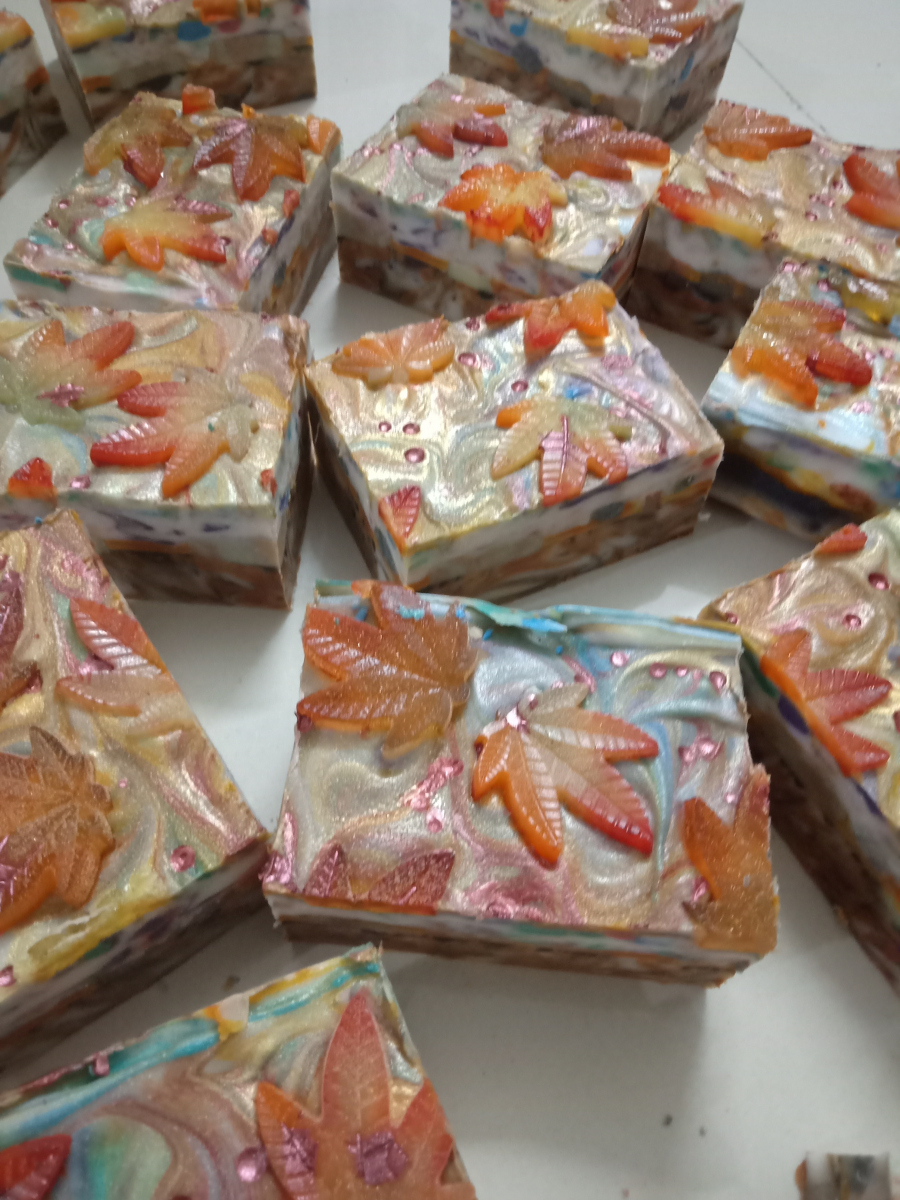 What does it take to start making handmade soaps? 1