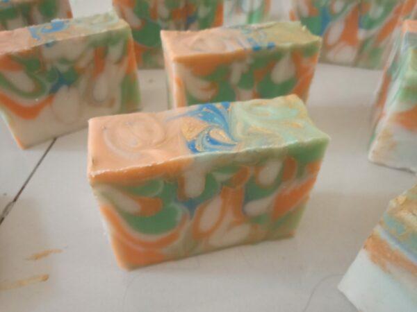 Samabhaav (समभाव) handmade art soap 1