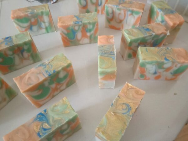 Samabhaav (समभाव) handmade art soap 2